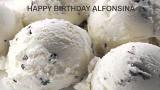 Alfonsina   Ice Cream & Helados y Nieves - Happy Birthday