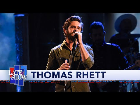 Cole - Remember You Young:  Thomas Rhett Performs on Late Night