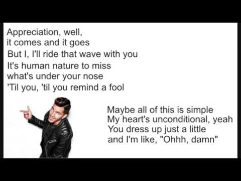 Andy Grammer Fresh Eyes Lyric Version