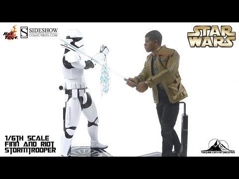 Hot Toys Star Wars FINN and RIOT CONTROL STORMTROOPER Video Review