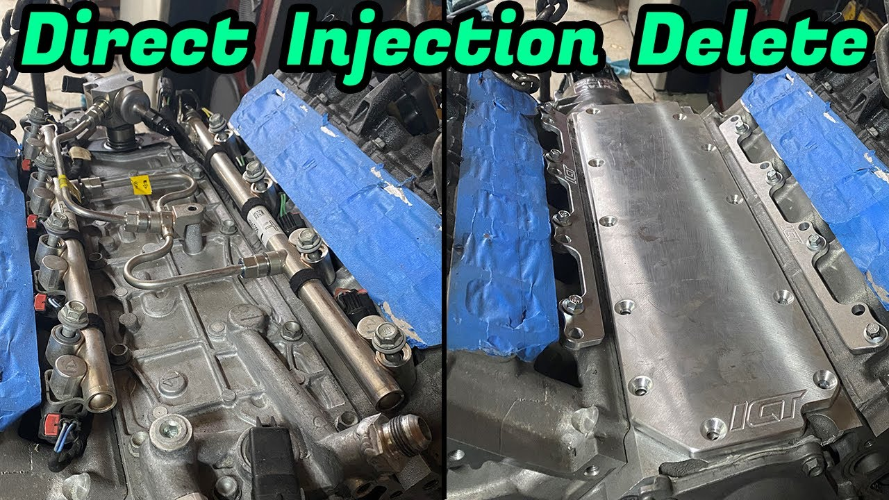 LT1 Direct injection delete for a PORT injection MONSTER!!! ICT Billet is on it!!