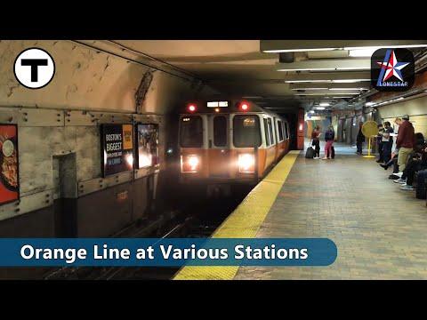 MBTA | Orange Line Trains | Boston