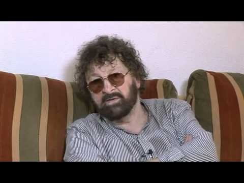Chas Hodges of the famous Chas and Dave on a visit to the Costa Blanca