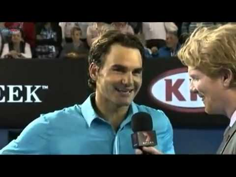 Hilarious Tennis Interviews (extremely funny)