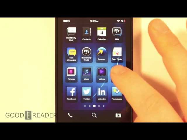 How to Install the good e-reader app store on Z10, Z30, Q5 and Q10