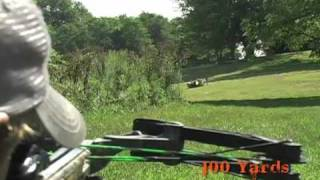 Barnett Crossbow Long Distance Shooting