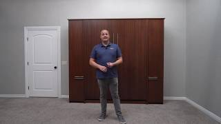 Scape Murphy Bed Demonstration- Wilding Wallbeds