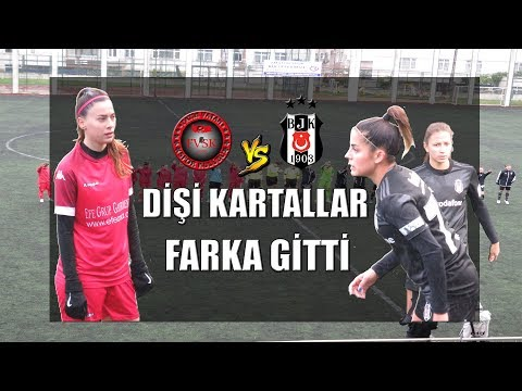 TFF KADINLAR 1. LİGİ FATİH VATAN - BEŞİKTAŞ MAÇ ÖZETİ Women's Football  Game Highlights