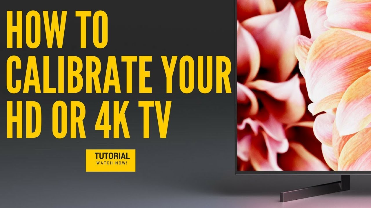 How To Calibrate HD TV 4K TV or UHD With Spectracal Calman X-rite i1  Display Pro