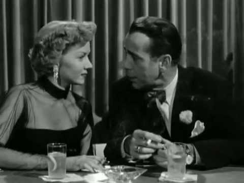 In a Lonely Place 1950  Humphrey Bogart  Gloria Graham  Piano