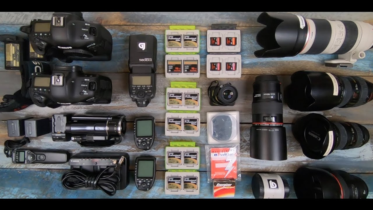 What's in my Camera Bag 2019?! | Commercial Photographer Gregory James