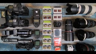 What's in my Camera Bag 2019?! | Commercial Photographer