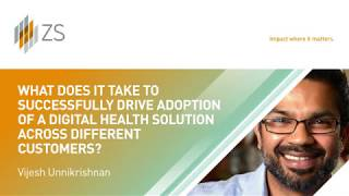 Driving adoption of digital health solutions