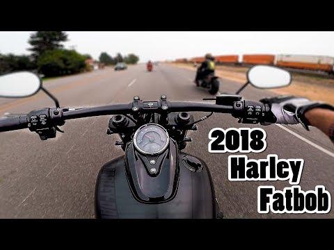 2018 Harley Davidson Fatbob First Ride