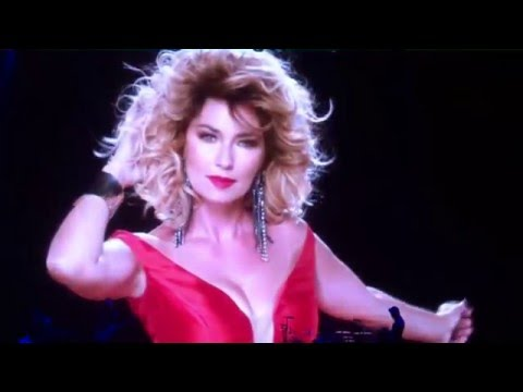 Shania Twain Quebec All the show