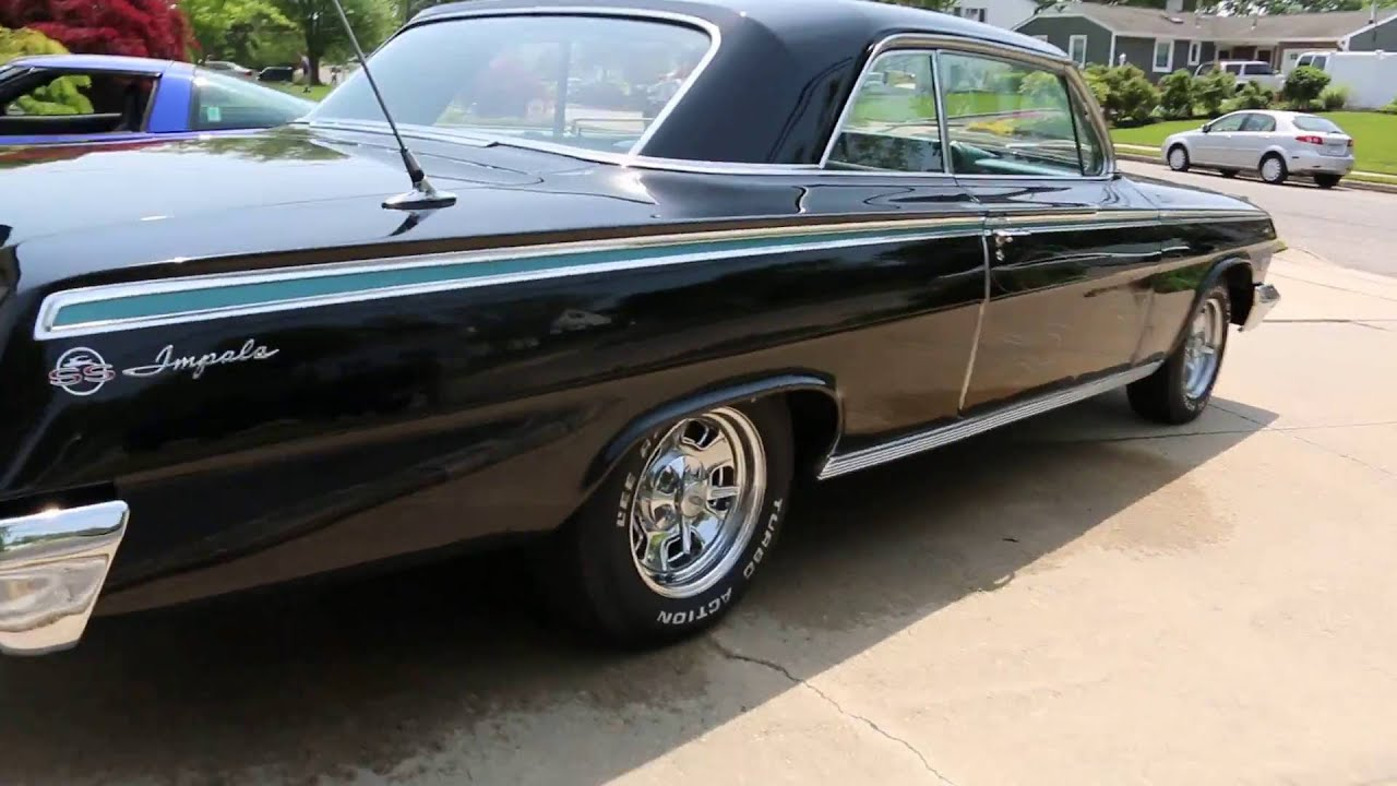 review of 1962 chevrolet impala ss tribute for sale 327 4 speed dual exhaust runs drives. Black Bedroom Furniture Sets. Home Design Ideas