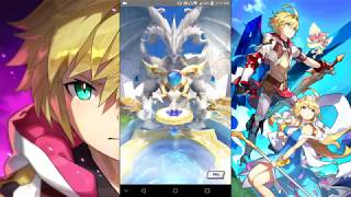 Dragalia Lost - The Winter Flower and The Tidal Power Summons