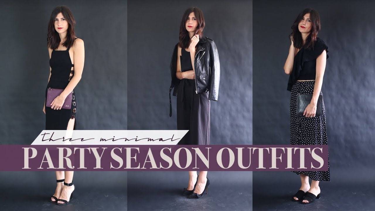 f0f9f9ad82848 3 Christmas Party Outfits - A Minimalist Guide on What to Wear for the Festive  Season | Mademoiselle