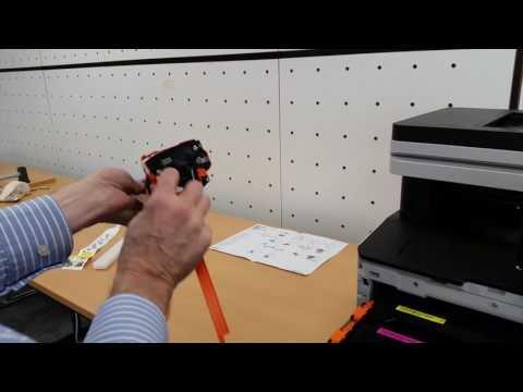 Samsung SL-C4060 - Installing Initial Toner
