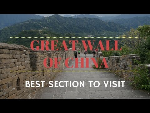 Great Wall of China – BEST section to visit - Jian Kou