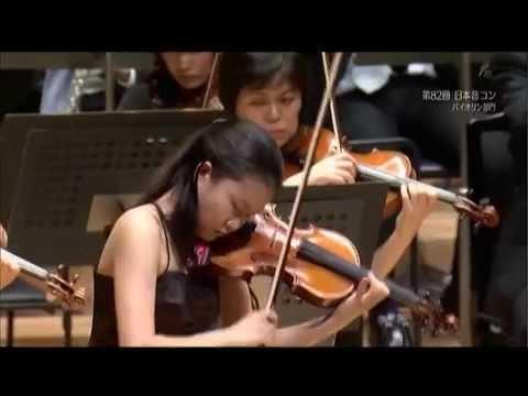 辻彩奈さん 第82回日本音楽コンクールバイオリン部門本選  Ayana tsuji