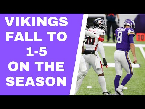 Minnesota Vikings and Kirk Cousins hit a new low in loss to Atlanta Falcons – Vent Line