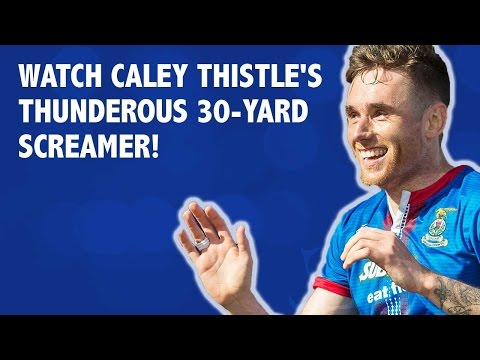 Watch Caley Thistle's thunderous 30-yard screamer!