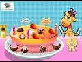 Baby Learn Cooking Delicious Cake Funny Game Kids So Cool 💕 | Catoon for Kids Education Compilation