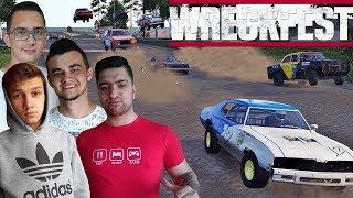 Wygrana za wygraną ! Chłopaki wąchają mi spaliny :D Wreckfest Multiplayer - Next Car Game