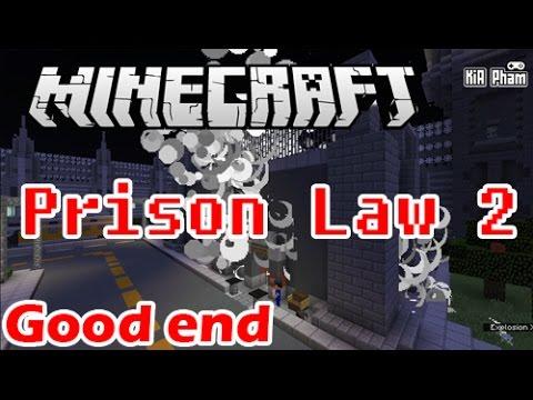 Minecraft | Prison Law 2 map Vượt ngục của Jaki Natsumi – Good End | KiA Phạm