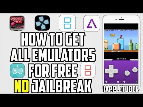 How To Get GBA4iOS, iNDS, PSP, nds4iOS, MAME4iOS & Multi Emulator iOS 10 / 9.2 - 9.3.5 No Jailbreak
