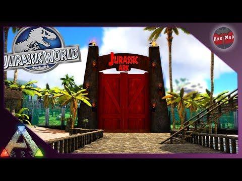 JURASSIC ARK PARK TOUR | ARK SURVIVAL EVOLVED [JURASSIC PARK MOD EP45]