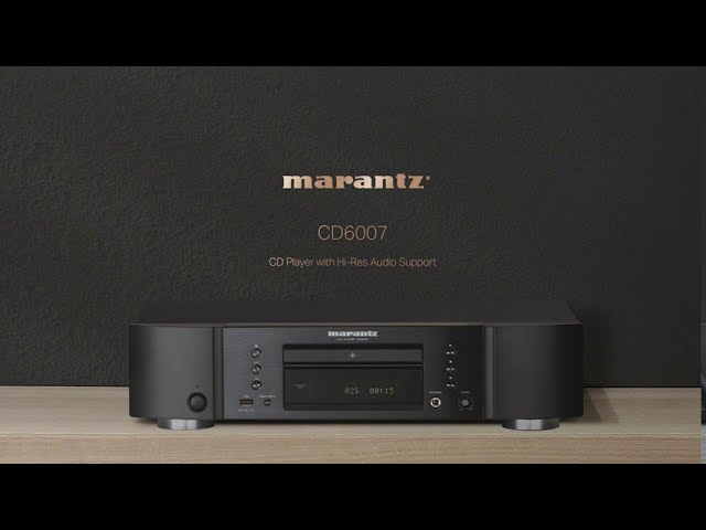 Marantz-CD6007-CD-Player-with-Hi-Res-Audio-Support