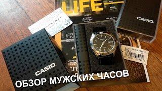 видео Мужские часы casio