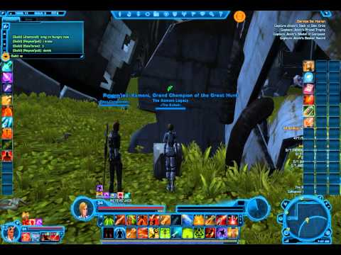 "SWTOR Bounty Hunter Class Mission Taris Part 3 ""Geroya be ..."