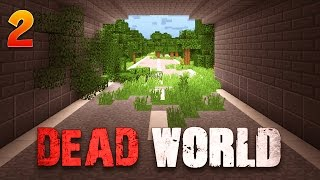 DEAD WORLD - Ep : 2 : Lost Highway - Minecraft 1.8 Map Aventure