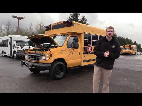 1993 Ford Collins Bantam 91 ADA School Bus  B65162