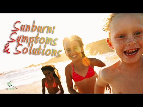 Sunburn in children: Symptoms and Treatments