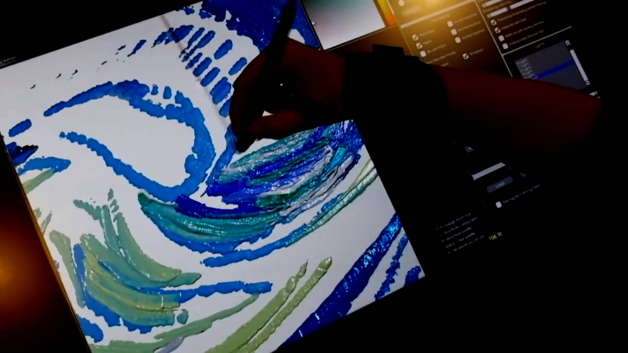 Благодаря проекту Wetbrush масляная живопись ушла в цифру.