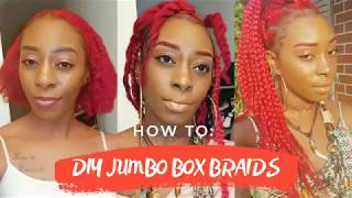 How To: DIY Jumbo Box Braids