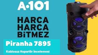 Bu sefer olmuş! Piranha 7895 Kablosuz Bluetooth Hoparlör inceleme ve ses testi