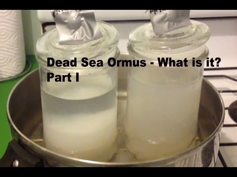 Refined Dead Sea Ormus What Is It? - Mg(OH)2? Pt1