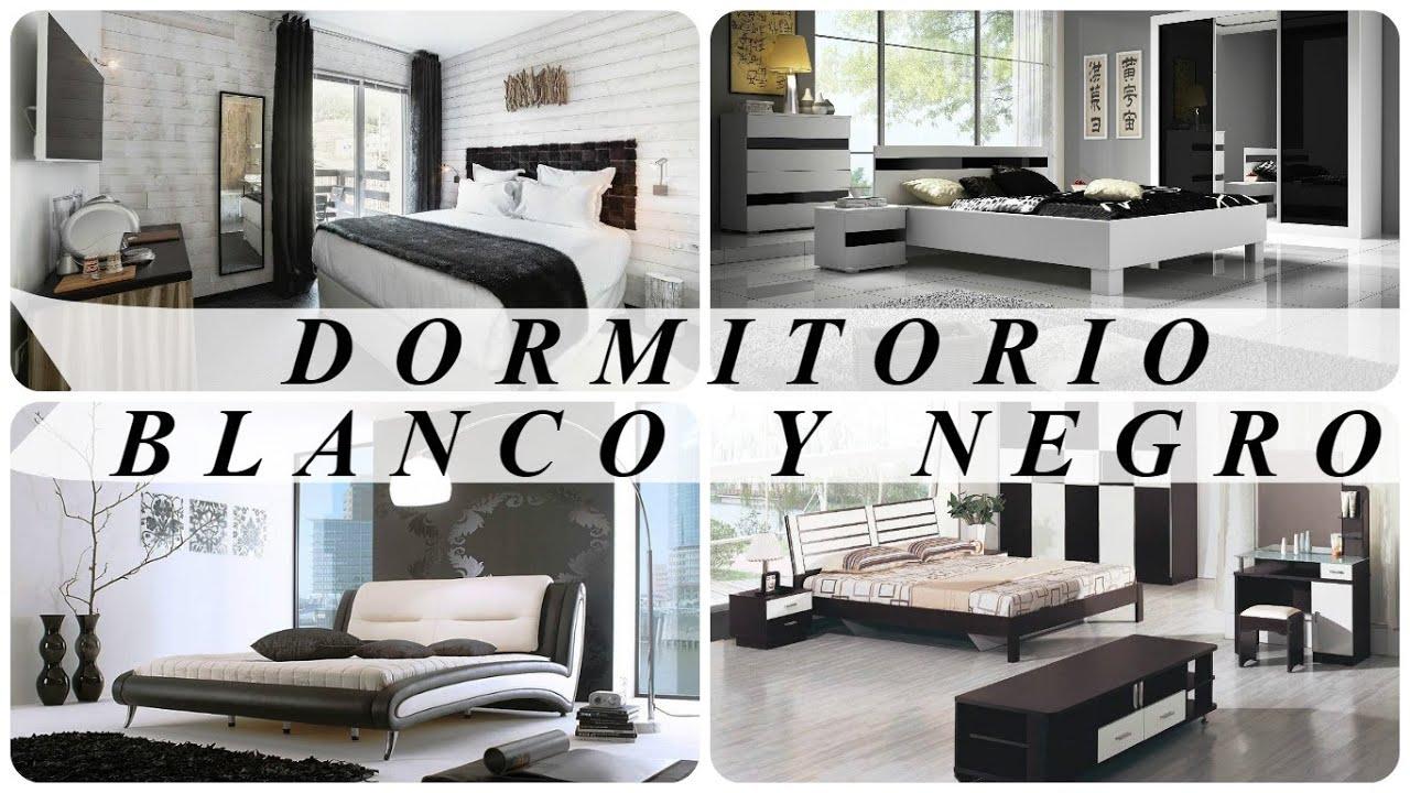 Dormitorios en blanco y negro youtube for Dormitorio negro