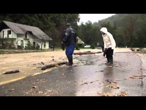 Poplave v Občini Sevnica 13.9.2014