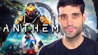 O JOGO nem saiu e já sei que vou VICIAR, Anthem, gameplay exclusivo da E3 2018