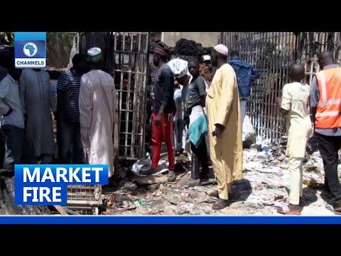 Download Fire Outbreak: Goods Worth N30 Million Lost In Potiskum Market, Yobe State