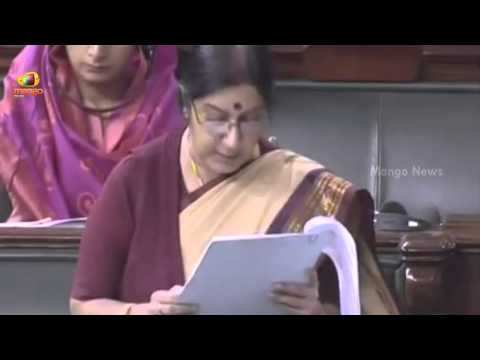 Sushma Swaraj suggests Indians not go to Iraq again