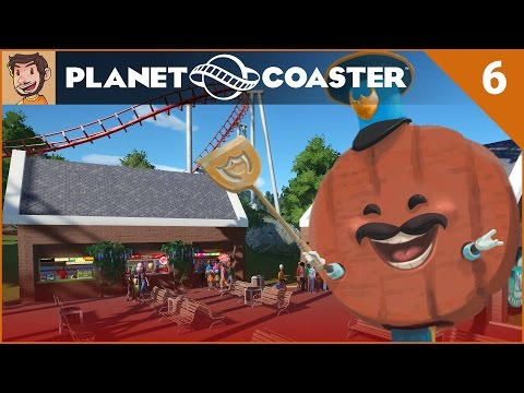 Let's Play Planet Coaster - Hard Mode - Part 6