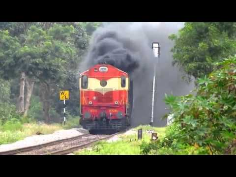 Extreme Smoking by Diesel Engine { Indian Railway }