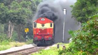 Extreme Smoking by Diesel Engine { Indian Railway }